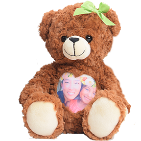 Custom Photo and AudioTeddy Bear | Personalized Photo Teddy Bears | Voice and Image Gift Bears | Cuddlebuddys