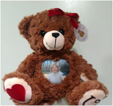 Grief Teddy Bear | Personalized Photo Teddy Bears | Voice and Image Gift Bears | Cuddlebuddys