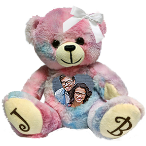 This is an image of a I love your Cuddlebuddys bear.