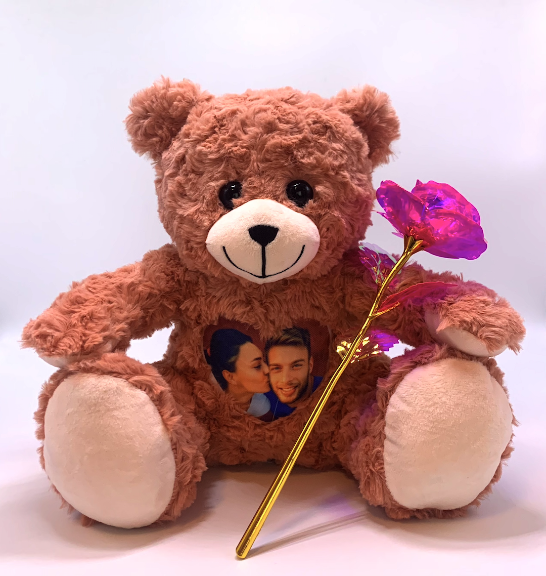 An image of a our Valentine Bear.
